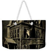 Psycho Mansion Weekender Tote Bag by John Malone