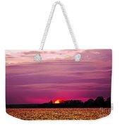 Psychoactive Sunset Weekender Tote Bag