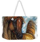 Psychodelic Chestnut Horse Original Painting 2 Weekender Tote Bag