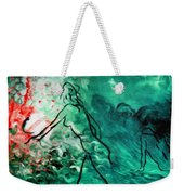 Psychological State Of Emerald Weekender Tote Bag