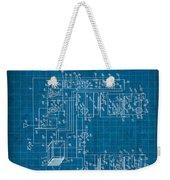 Pt Farnsworth Television Patent Blueprint 1930 Weekender Tote Bag