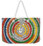 Ptolemaic Universe, 1537 Weekender Tote Bag