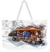 Pubcycle Weekender Tote Bag