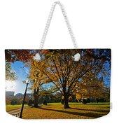 Public Garden Fall Tree Weekender Tote Bag