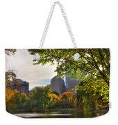 Public Garden Skyline Weekender Tote Bag by Joann Vitali