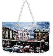 Public Market Weekender Tote Bag