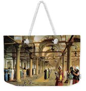 Public Prayer In The Mosque  Weekender Tote Bag