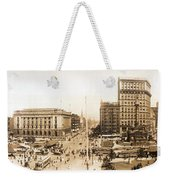 Public Square Cleveland Ohio 1912 Weekender Tote Bag