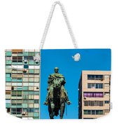 Public Statue Of General Artigas In Montevideo Weekender Tote Bag
