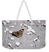 Puddling Butterfly 8766 Weekender Tote Bag