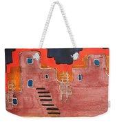 Pueblito Original Painting Weekender Tote Bag