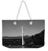 Puente II Bw Weekender Tote Bag