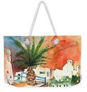 Puerto Carmen Sunset In Lanzarote Weekender Tote Bag