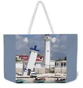 Puerto Morelos Lighthouse Weekender Tote Bag