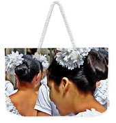 Puerto Rican Day Parade Lineup Weekender Tote Bag