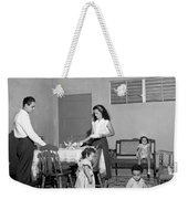 Puerto Rico Family Dinner Weekender Tote Bag