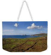 Puffin Island From The Skelligs Ring Weekender Tote Bag