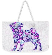Pug - Animal Art Weekender Tote Bag