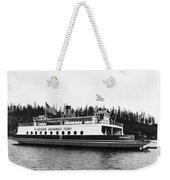 Puget Sound Ferry Boat Weekender Tote Bag