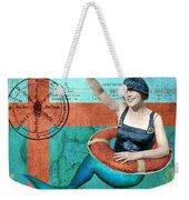 Puget Sound Mermaid  Weekender Tote Bag