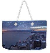 Puget Sound Sunset Illumination Weekender Tote Bag