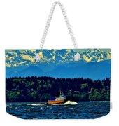 Puget Sound Tugboat Weekender Tote Bag