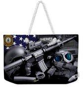 Pulaski Sheriff Tactical Weekender Tote Bag