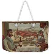 Pullman Compartment Cars Ad Circa 1894 Weekender Tote Bag