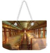 Pullman Porter Train Car Weekender Tote Bag