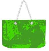 Pulp Fiction Dance Green Weekender Tote Bag