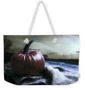 Pumpkin At Sunset Weekender Tote Bag