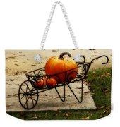 Pumpkin Barrow Weekender Tote Bag