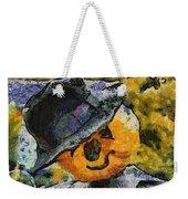 Pumpkin Face Photo Art 05 Weekender Tote Bag