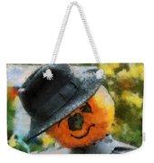 Pumpkin Face Photo Art 06 Weekender Tote Bag