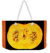 Pumpkin Half Weekender Tote Bag
