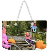 Pumpkin Heart Weekender Tote Bag