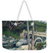 Pumpkin Hollow Bridge Weekender Tote Bag