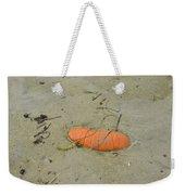 Pumpkin In The Sand Weekender Tote Bag