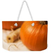 Pumpkin Label Weekender Tote Bag