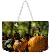 Pumpkin Line Up Weekender Tote Bag