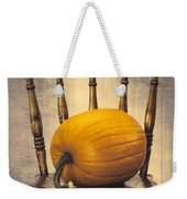 Pumpkin On Chair Weekender Tote Bag