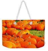 Pumpkin Patch Weekender Tote Bag