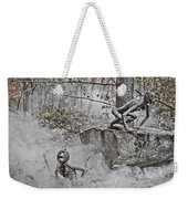 Pumpkin Thieves Climb Out Of Thier Hidden Places Weekender Tote Bag