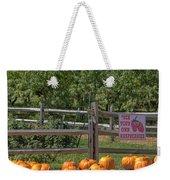 Pumpkins On The Farm Weekender Tote Bag