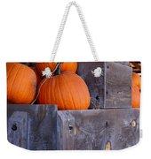 Pumpkins On The Wagon Weekender Tote Bag