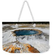 Punch Bowl Spring In Yellowstone Weekender Tote Bag
