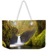 Punchbowl Pano Weekender Tote Bag by Darren  White