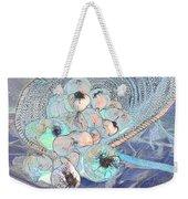 Pungent Overflow Weekender Tote Bag by Jean Noren