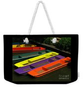 Punts For Hire Weekender Tote Bag
