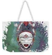 Punu Mask - Maiden Spirit Mukudji Weekender Tote Bag